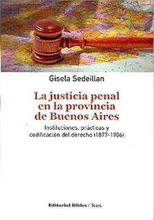 Justicia Penal En La Provincia De Buenos Aires, La