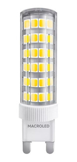 Pack X 15 Lampara Led Bipin G9 6w Potente Frío Calido