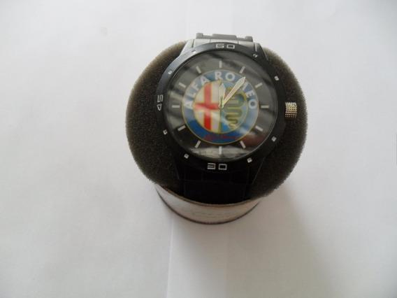 Relógio Com Tema Automotivo, Alfa Romeo