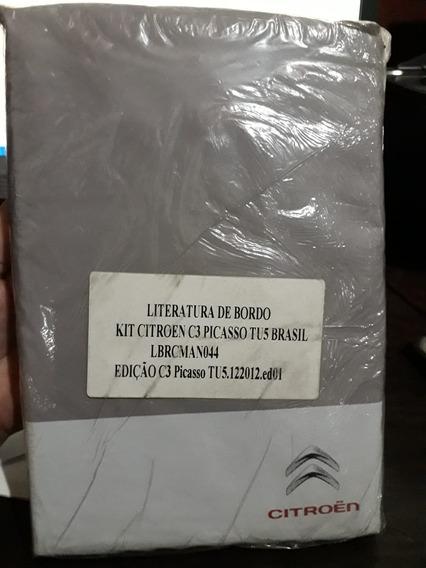 Manual Do Proprietario C3 Picasso Original