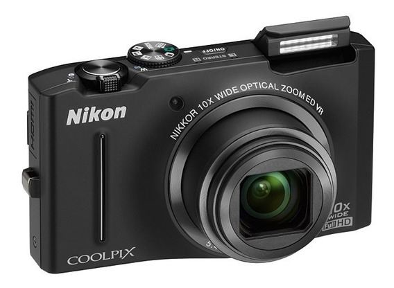 Camera Digital Nikon Coolpix S8100 12.1 Mp Preta