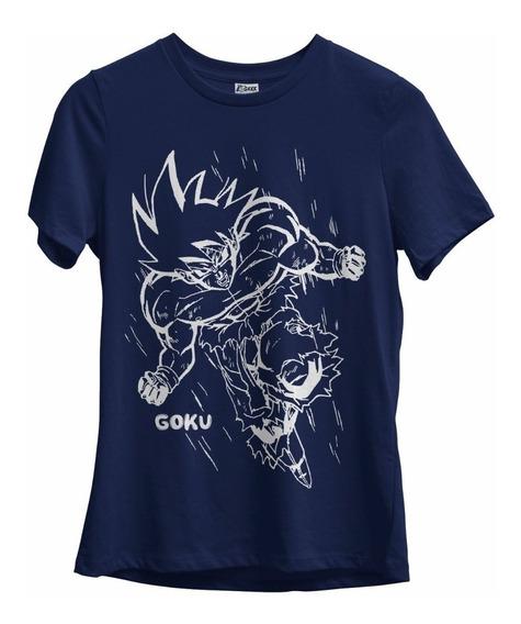 Camiseta Feminina Goku Dragon Ball Z Sayajin Animes
