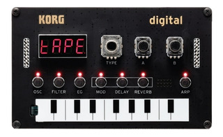 Sintetizador Korg Nts1 Kit Digital Programable Diy - Cuotas