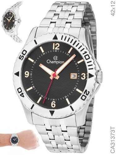 Relógio Masculino Prateado Champion Ca31373t Aprova D