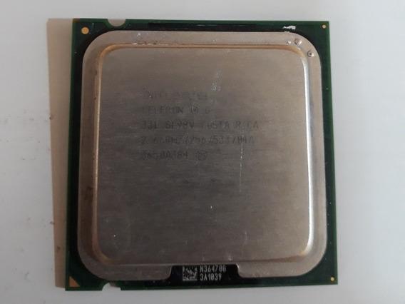 Processador Celeron D 331 Sl98v 2.66ghz 256kb Lga775