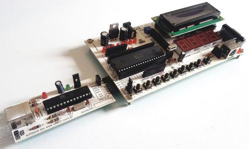 Kit E Gravador Microcontrolador Atmel At89s52
