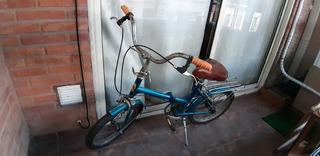 Bicicleta Plegable Rodado 16 Vintage