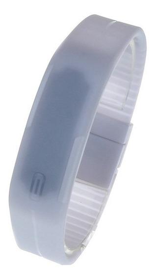 16 Relógio Pulseira Digital Led Academia Corrida Unissex Top