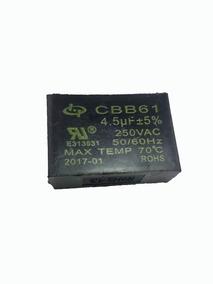 Capacitor Cbb61 4,5uf X 250vac Ventilador De Teto 4,5uf