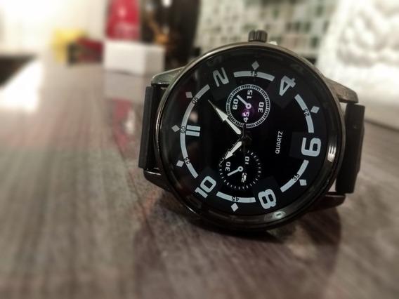 Relógio Masculino Quartz Preto