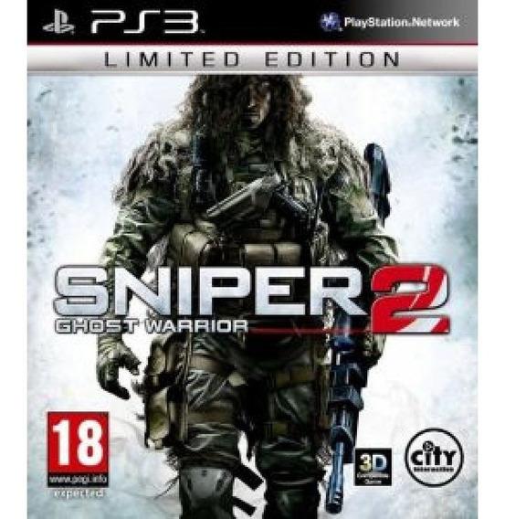 Jogo Fisico Atirador Sniper Ghost Warrior 2 Playstation Ps3