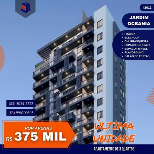 Apartamento Para Venda Em João Pessoa, Bessa, 3 Dormitórios, 1 Suíte, 1 Banheiro, 1 Vaga - 2013_1-1632308