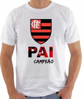 Camiseta Papai Times Preferido Presente Grêmio Flamengo Cor