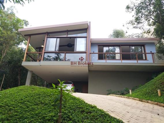 Casa Com 3 Quartos Para Venda Em Condomínio Fechado - 18325