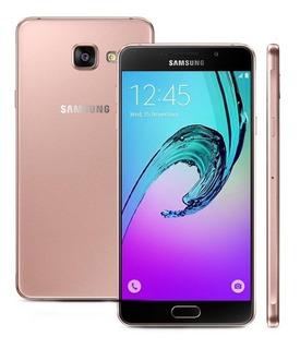 Celular Samsung Galaxy A72016 16gb+ Cartao 32gb /5,5 Rosê