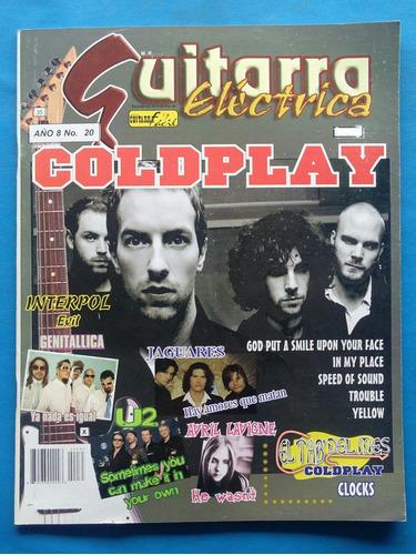 Guitarra Eléctrica/ Especial/ Coldplay/ Exh.