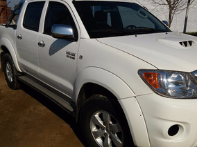 Toyota Hilux Srv 2011 Unico Dueño 4x4 Aut U$s34500 O Permut