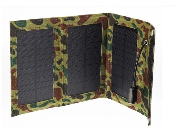 Panel Solar Portatil 7.5w 5.5v A 1290amp Carga Cual Quier Cosa