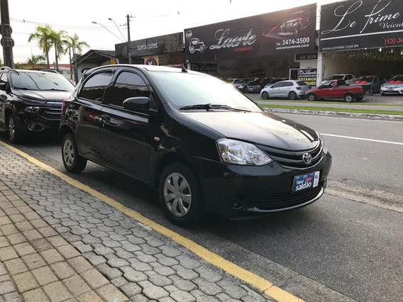 Toyota-etios X 1.3 Flex Completo.