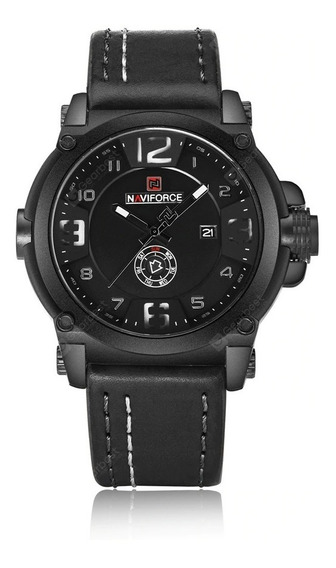 Relógio Naviforce 9099 Original Branco
