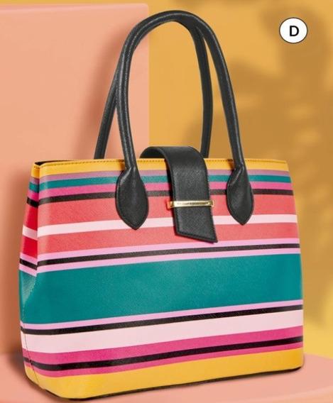 Bolsa Dama Multicolor 851-18 Cklass Hand Bags 1-20 J