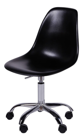 Cadeira Charles Eames Dkr C/ Rodizio Design