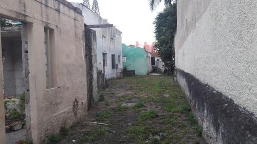 Imagem 1 de 3 de Terreno À Venda, 580 M² - Vila Caminho Do Mar - São Bernardo Do Campo/sp - Te4140