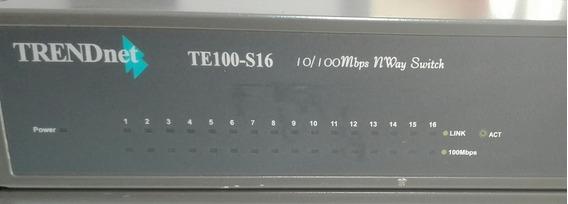 Trendnet Switch 16 Port 10/100