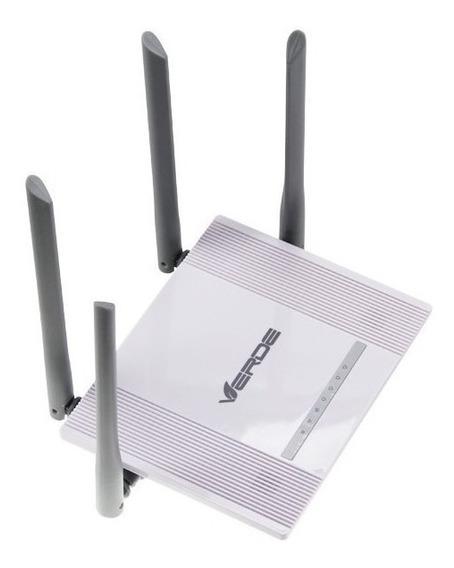 Roteador Sem Fio 4 Antenas Wireless Wifi 300mbps Nota Fiscal