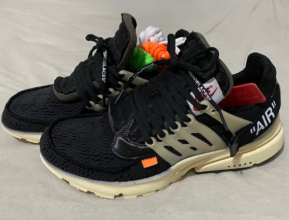 Tênis Nike X Off-white Air Presto Preto Rp