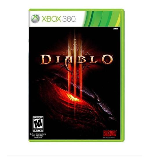 Jogo Diablo 3 - Xbox 360 - Original - Mídia Física - Novo