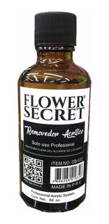 Removedor Acrílico De 60ml Flower Secret
