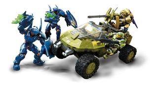 Mega Construx Halo Warthog Run 10 Aniversario Original