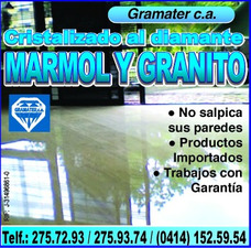 Pulitura,emplomado,cristalizado, Mármol Granito,diamantado,