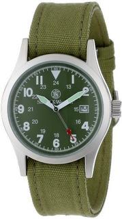 Smith Wesson Military Multi Correa De Lona Reloj Olive Drab