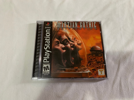 Martian Gothic: Unification Ps1 Original Ameircano