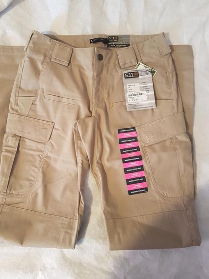 5 11 Pantalon Tactico Khaki Mujer Nogalesp D