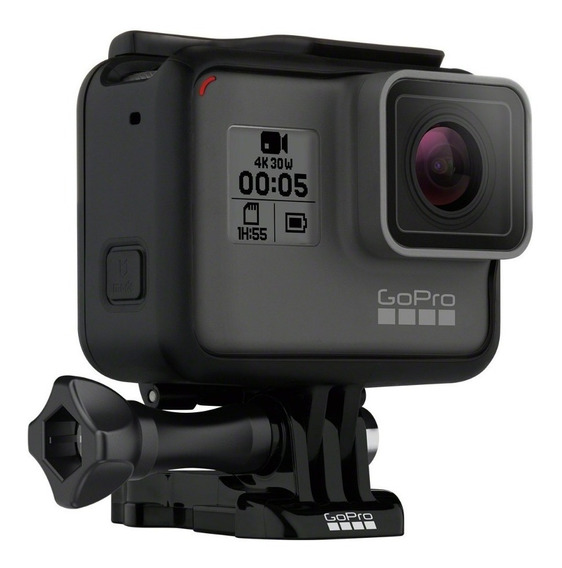 Camera Gopro Hero 5 Black Adventure Ação - 4k - Tela Lcd