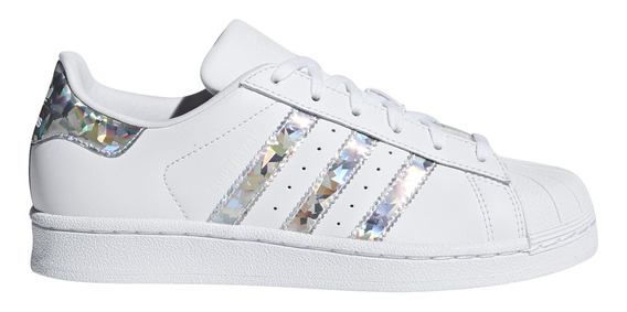Zapatillas adidas Originals Moda Superstar J Bl/pl