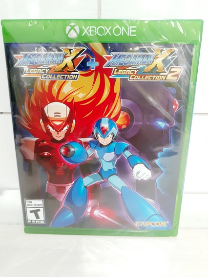 Jogo Mega Man X Legacy Collection 1+2 Xbox One Lacrado!