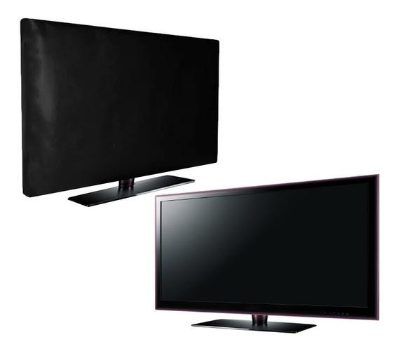 Capa Tv 46/47 Premium Suspensa Suporte Resistente À Água 4k