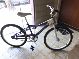 Bicicleta Musetta Fantasy Rodado 24 Dama