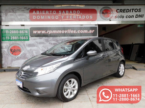 Nissan Note 1.6 Exclusive 110cv Cvt 2017 Rpm Moviles