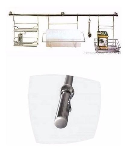Barral Cocina Para Organizador Utensillos 5/8 X 60 Cm Bce
