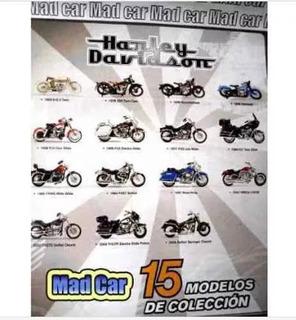 Colección Completa De Moto Harley Davidson