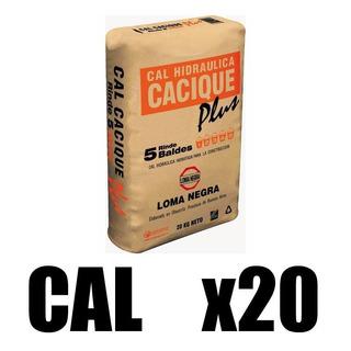 Cal Hidraulica Cacique 20 Kg