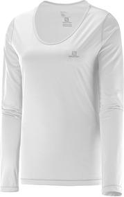 Camiseta Salomon - Sonic Ls Uv - Feminina