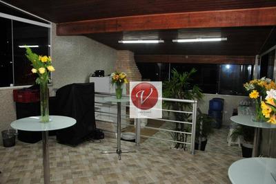 Sobrado Com 10 Dormitórios À Venda Por R$ 800.000 - Parque Novo Oratório - Santo André/sp - So0654