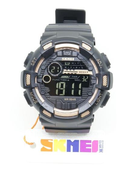 Relógio Skmei 1243 Com Garantia De 1 Ano E A Prova D