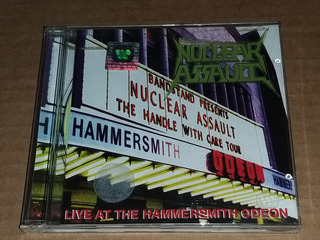 Nuclear Assault - Live At The Hammersmith Odeon (cd)